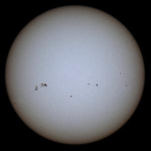 Steve-Wainwright Sun in White Light