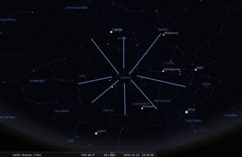 Geminids Meteor Shower 2016